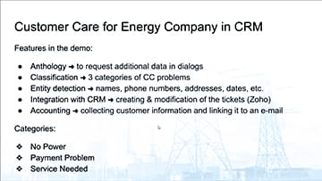 Customer Care in CRM - 19 Sep 2109
